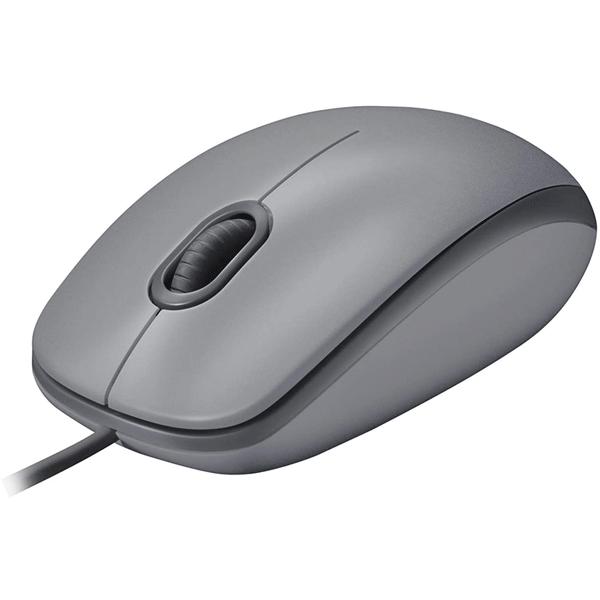 logitech usb silent mouse m110s – mid grey (910-005490)2