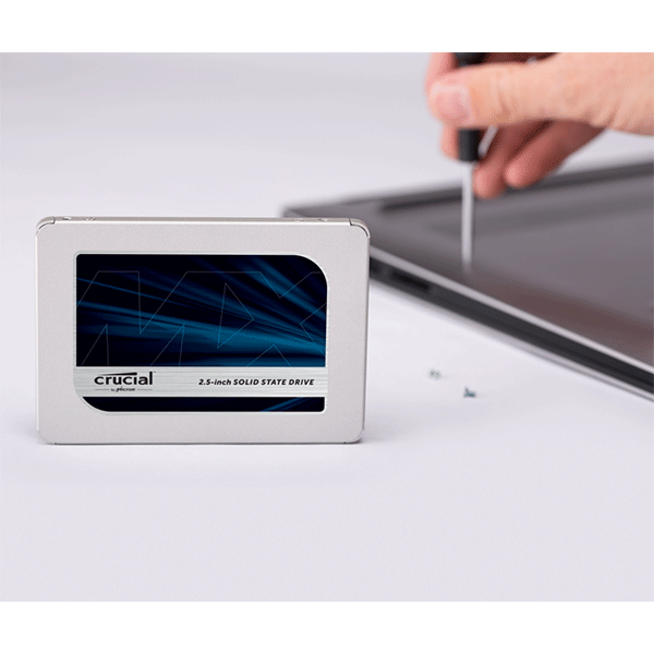 Crucial MX500 500GB 3D NAND SATA 2.5 inch 7mm (with 9.5mm adapter) Internal SSD (CT500MX500SSD1)3