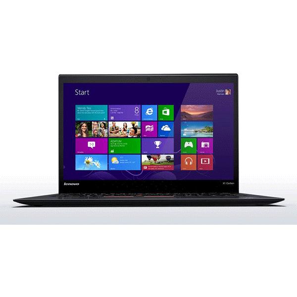 Lenovo ThinkPad X1 Carbon Touchscreen  3rd Generation - Core i5-5300U, 4GB RAM, 256GB SSD, 14.0in FHD 1920x1080 Display, Windows 7 Pro3
