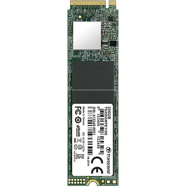TRANSCEND 110S INTERNAL SSD M.2 PCIe Gen 3*4 NVMe 2280 512GB (TS512GMTE110S)4
