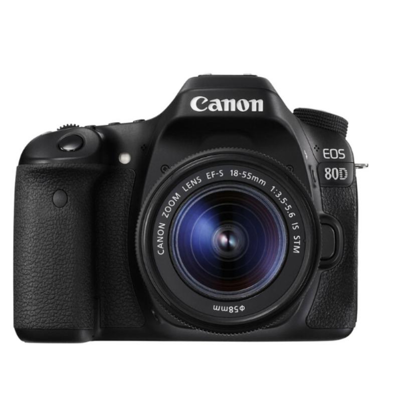 Canon EOS 80D 24.2MP 7fps FHD 1080p Video18-135mm DSLR Camera2