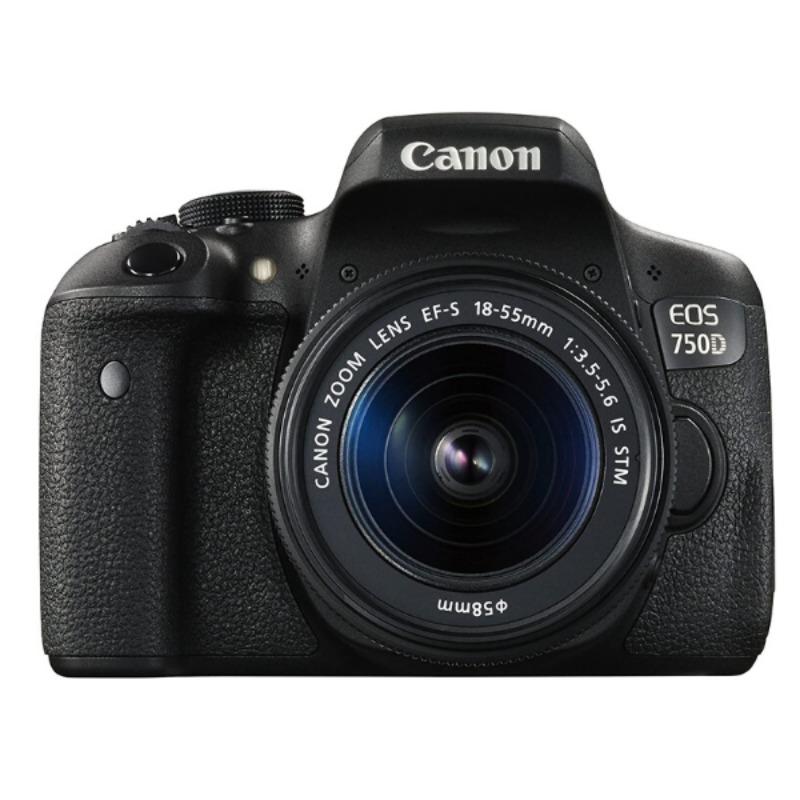 Canon EOS 750D 18-55mm IS STM Lens Kit 24.2MP DSLR Camera3