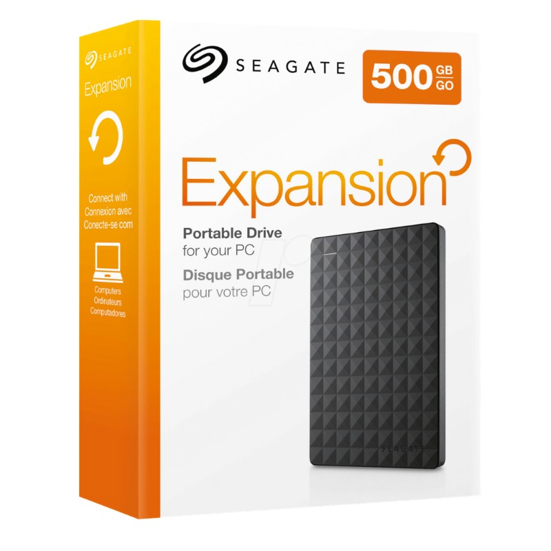seagate 500gb expansion portable external hard drive usb 3.0 model stea500400 black4