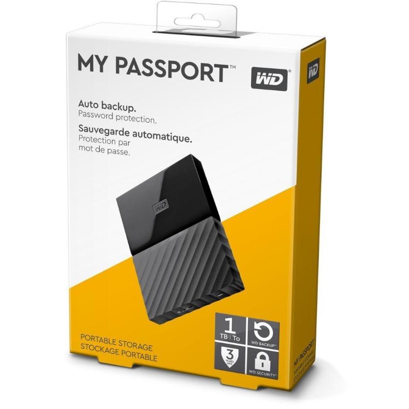Western Digital WESN My Passport 1TB Black 2.53