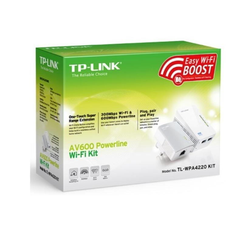 300Mbps Wi-Fi Range Extender, AV600 Powerline Edition3