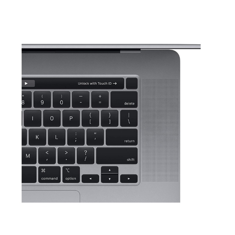 Apple Macbook Pro Touch Bar and Touch ID MVVK2 ( 2019 )- Intel Core i9, 2.3GHz, 16-Inch, 1TB, 16GB, AMD Radeon Pro 5500M2