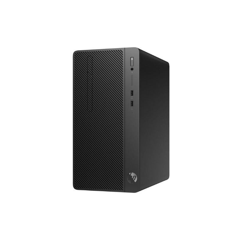 hp 290 g2 microtower desktop 4nu59ea, core i3-8th gen., 4gb ram, 1tb hdd, dvd rw,3