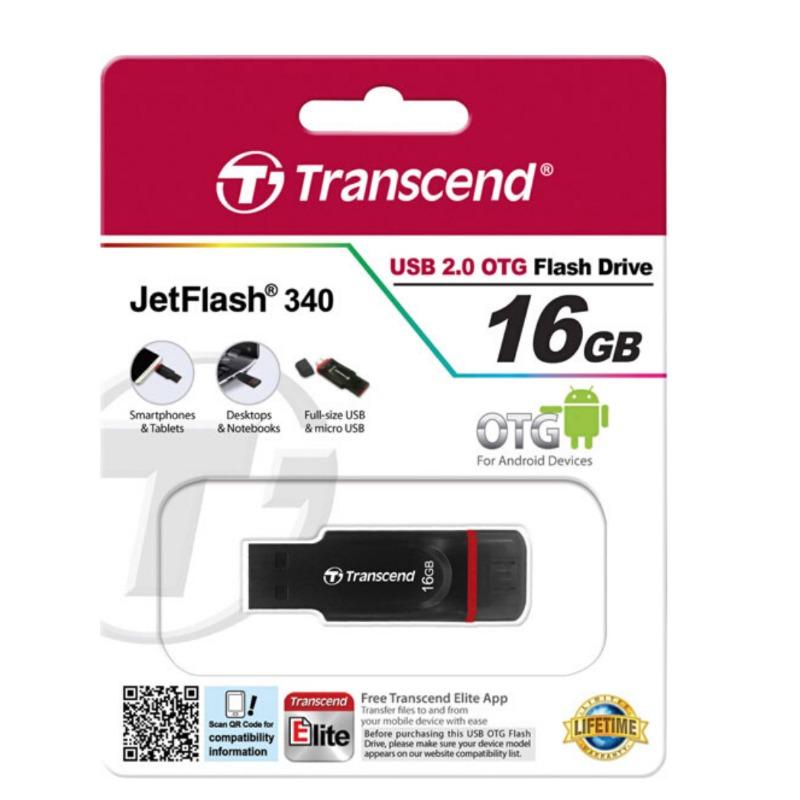 transcend ts16gjf340 jetflash 340 mobile (otg) 16gb usb flash drive2
