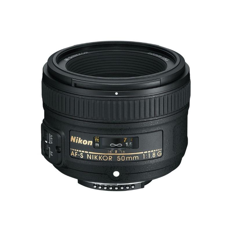 Nikon AF-S NIKKOR 50mm f/1.8G DSLR Camera Lens2