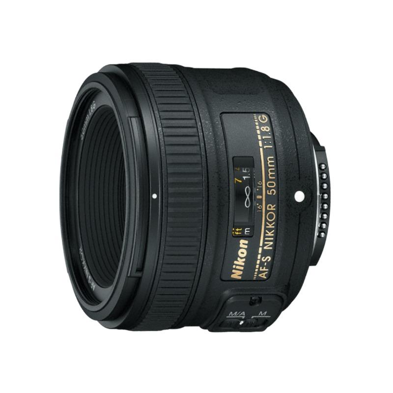 Nikon AF-S NIKKOR 50mm f/1.8G DSLR Camera Lens3