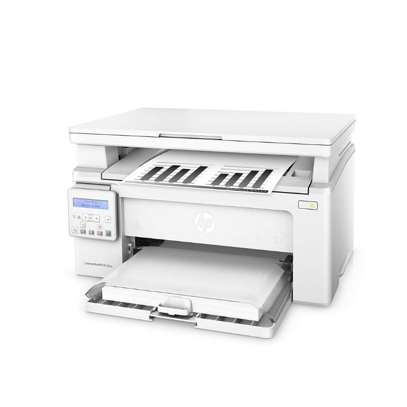 hp laserjet pro mfp m130nw black & white wireless print-scan-copy wireless laser printer white2