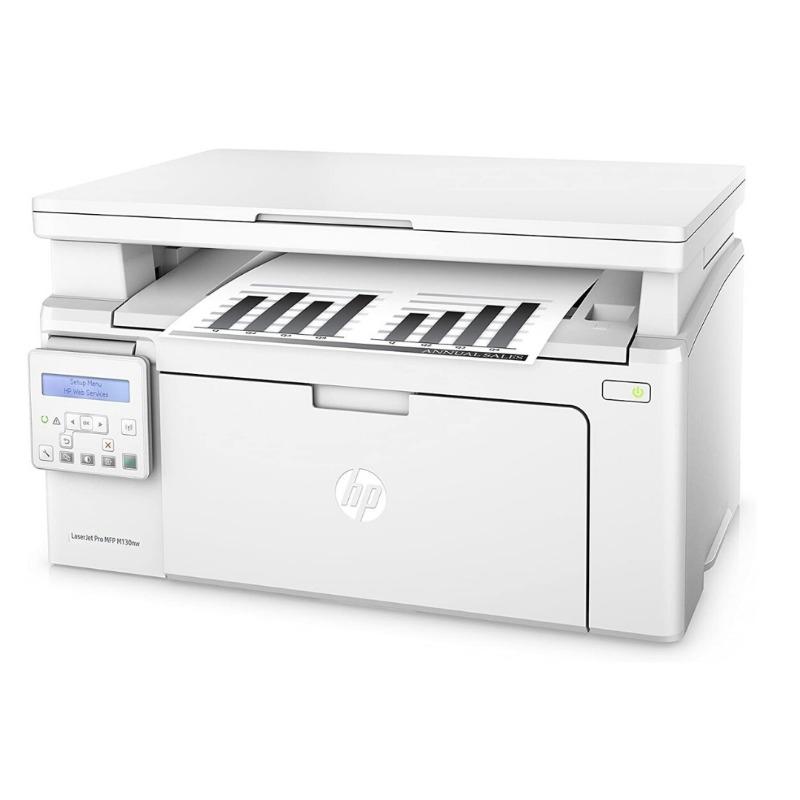 hp laserjet pro mfp m130nw black & white wireless print-scan-copy wireless laser printer white3