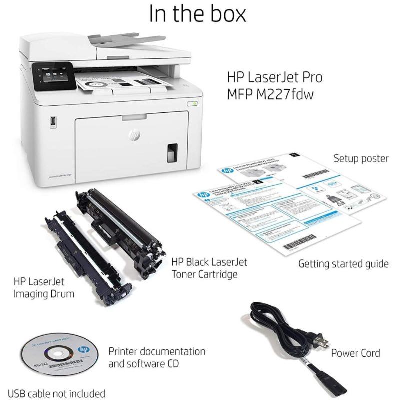 HP LaserJet Pro M227fdw All-in-One Monochrome Laser Printer2