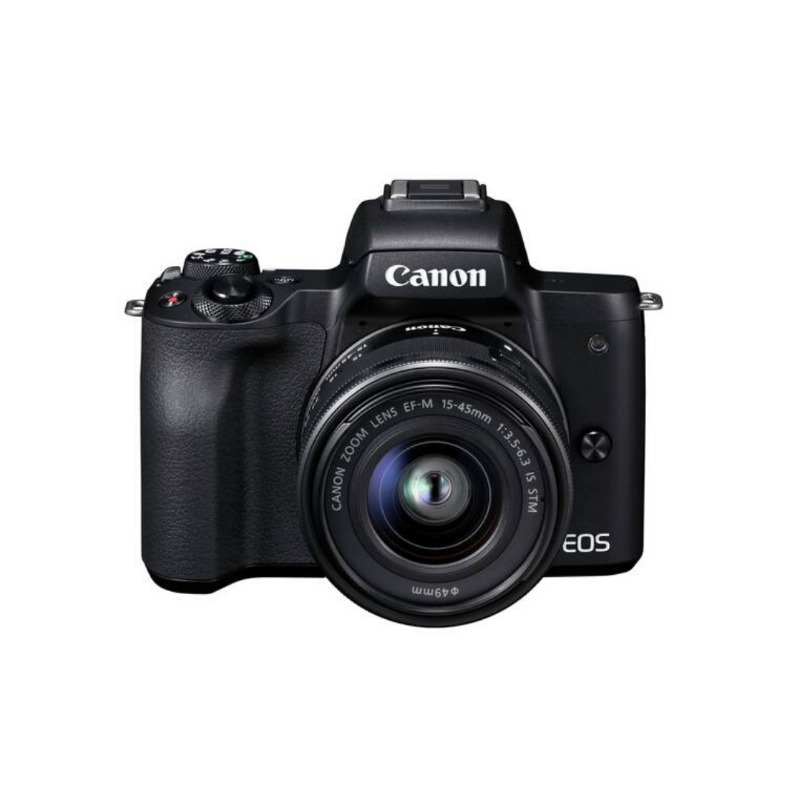 Canon EOS M50 Mirrorless Digital Camera with 15-45mm Lens2