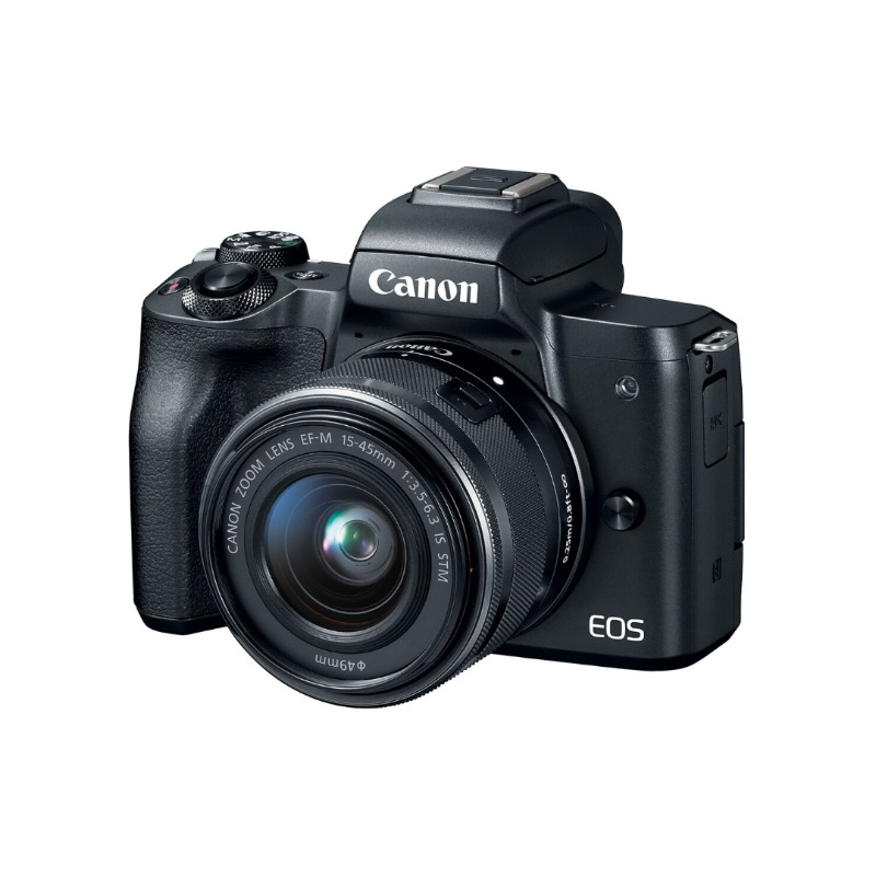 Canon EOS M50 Mirrorless Digital Camera with 15-45mm Lens3