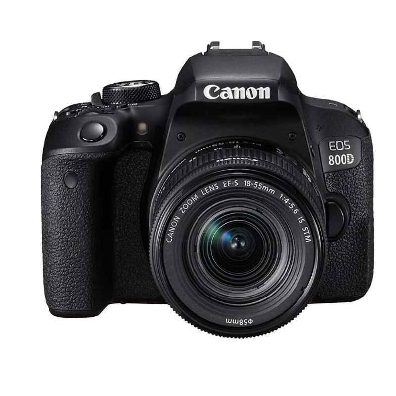 Canon EOS 800D DSLR with 18-55 mm lens2