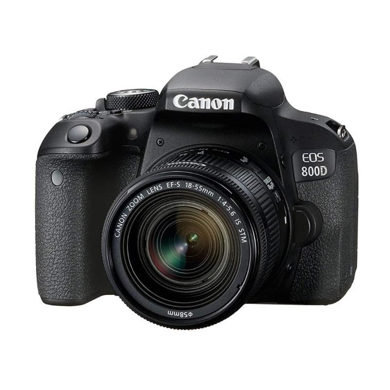 Canon EOS 800D DSLR with 18-55 mm lens3