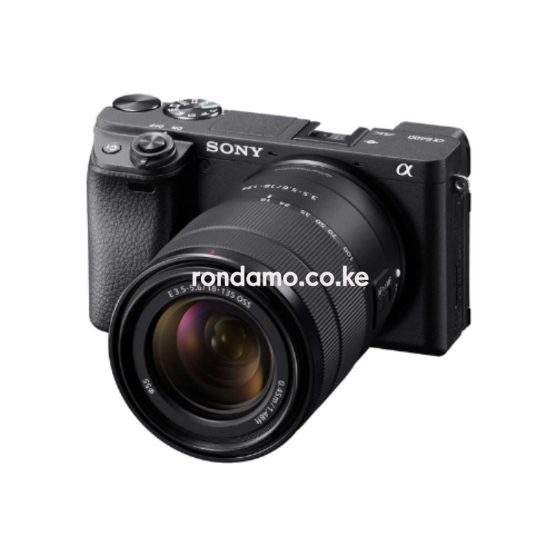 Sony Alpha a6400 Mirrorless Camera & 18-135mm Lens4