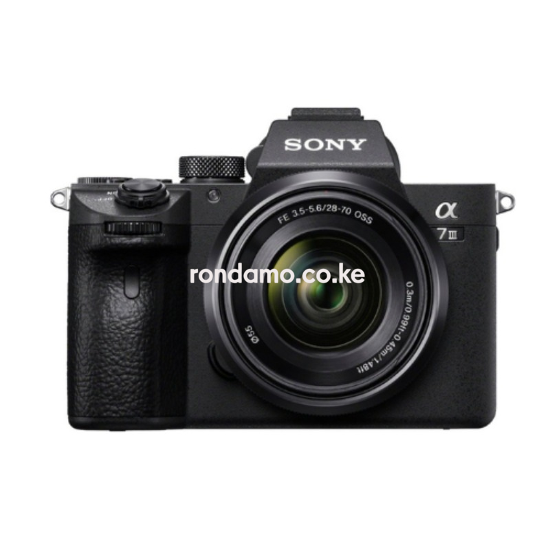 sony a7iii full frame mirrorless camera with fe 28-70mm f3.5-5.6 oss lens 3