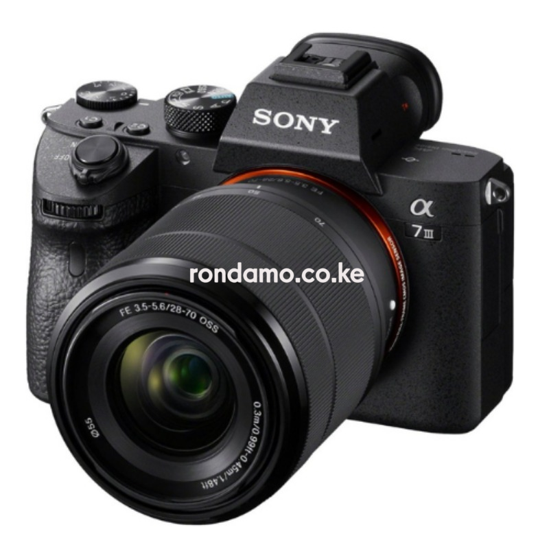 sony a7iii full frame mirrorless camera with fe 28-70mm f3.5-5.6 oss lens 4
