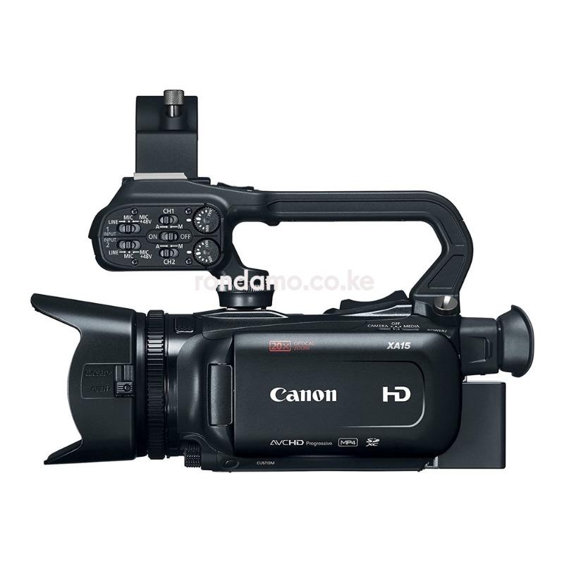 Canon XA15 Compact Full HD Camcorder3