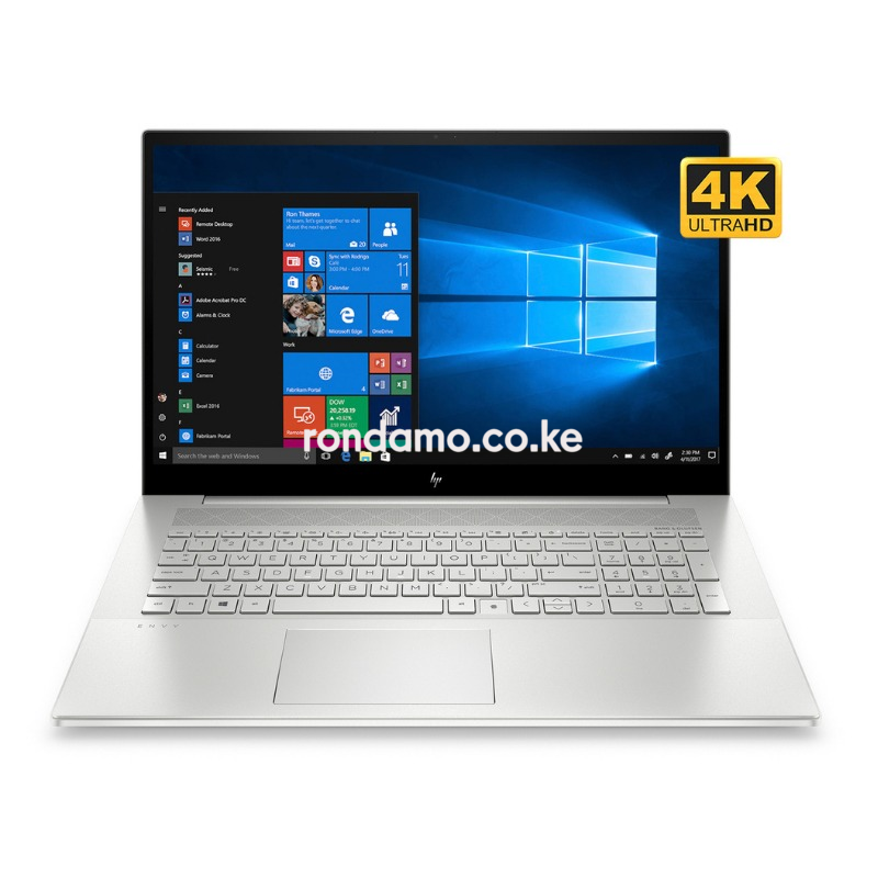 HP Envy 17t ;Intel i7-1065G7, 16GB DDR4, 1TB HD+256GB NVMe SSD, NVIDIA GeForce 4GB GDDR5, Windows 10 Pro  8MX93AV4