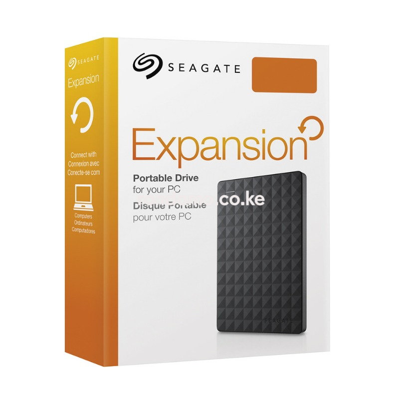 Seagate - Expansion 2TB External USB 3.0 Portable Hard Drive3