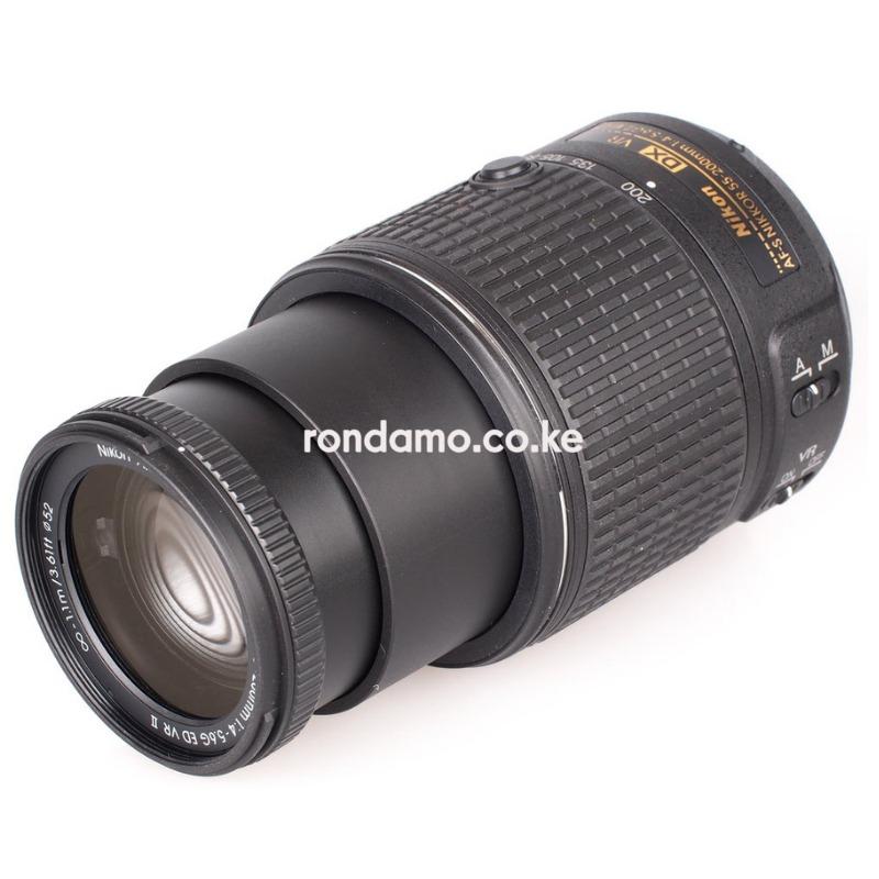 Nikon AF-S DX NIKKOR 55-200mm f/4-5.6G ED VR II Lens Black2