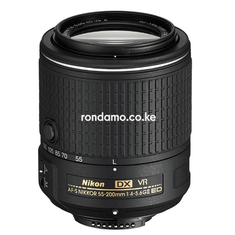 Nikon AF-S DX NIKKOR 55-200mm f/4-5.6G ED VR II Lens Black3