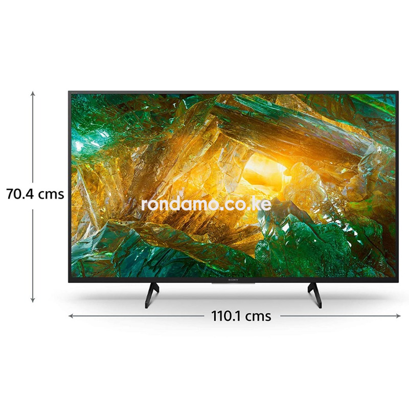 sony 49 inches (49x750h)smart 4k tv3