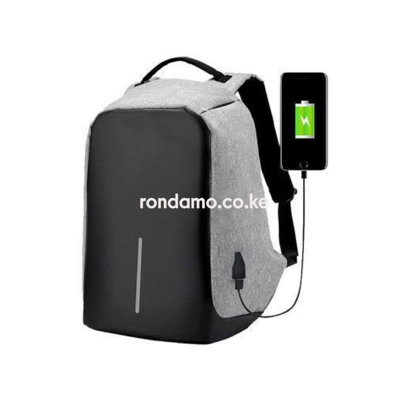 Securepack™ Best Anti-Theft USB Charging Travel Backpack Purple3