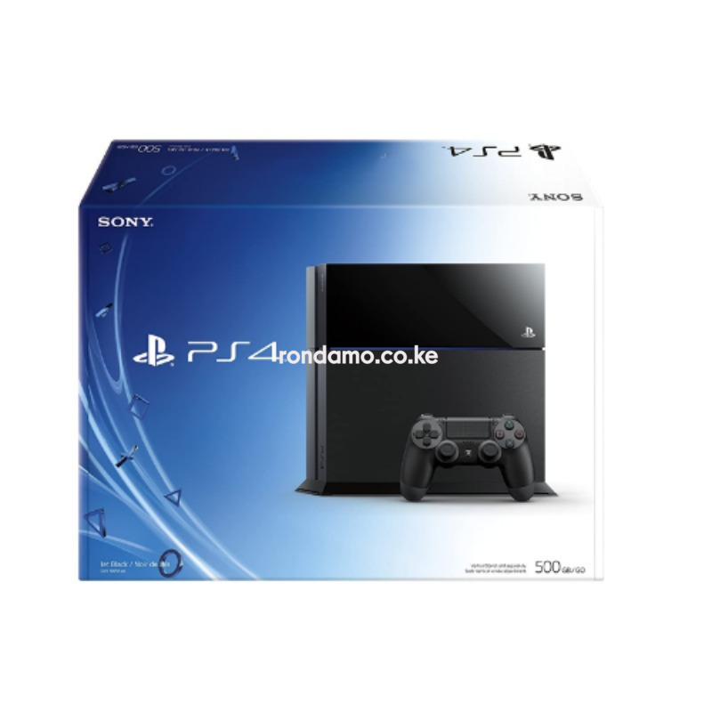 Sony Playstation 4 (PS4) 500GB Storage Gaming Console with  1 Gaming Pad3