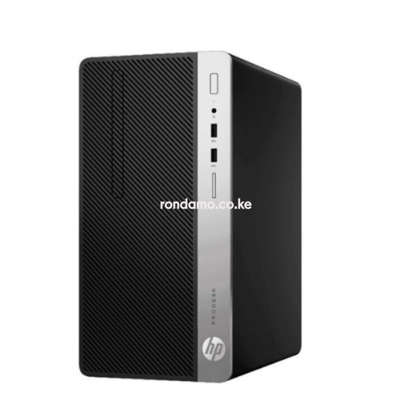 HP ProDesk 400 G6 Microtower PC - Core i7-9700 / 8GB RAM / 256GB SSD / Cpu Only / Win 10 Pro 2