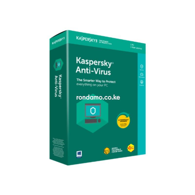 Kaspersky Antivirus - 1+1 user 20212