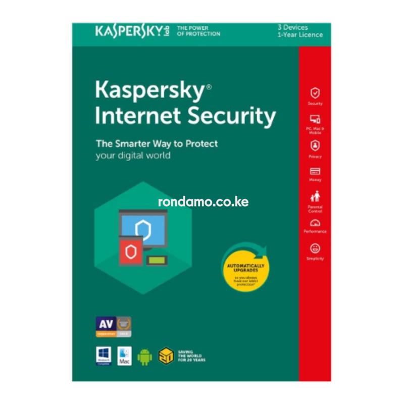 kaspersky Internet Security 3+1 users 2