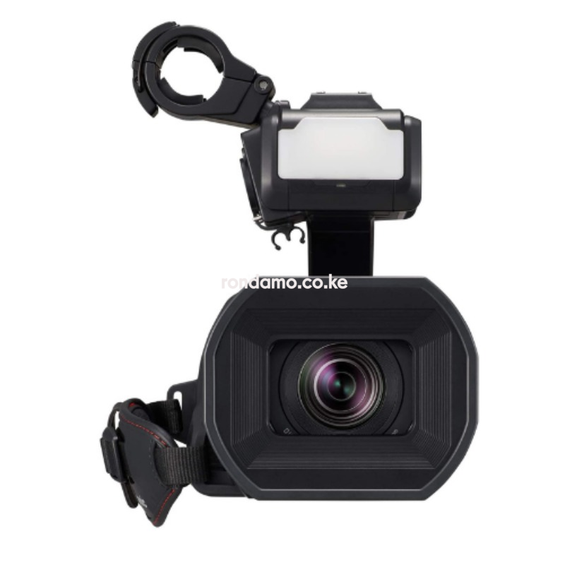 Panasonic X2000 4K Professional Camcorder with 24x Optical Zoom, WiFi HD Live Streaming, 3G SDI Output and VW-HU1 Detachable Handle, HC-X20002