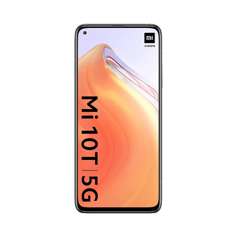 Xiaomi Mi 10T - Smartphone, 6.67 inches DotDispaly, 6 GB + 128 GB, Dual Sim, 5000 mAh, 64MP Triple Rear Camera, Alexa Hands-Free2