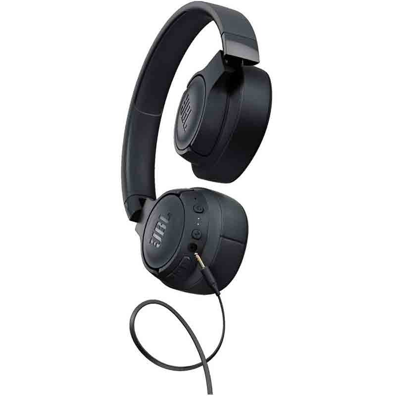JBL TUNE 750BTNC - Wireless Over-Ear Headphones with Noise Cancellation - Black3