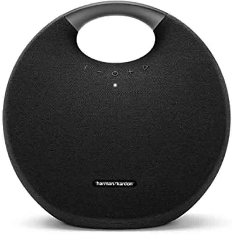 Harman Kardon Onyx Studio 6 Wireless Bluetooth Speaker - IPX7 Waterproof Extra Bass Sound System with Rechargeable Battery and Built-in Microphone4