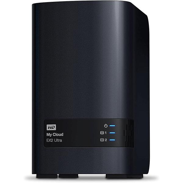 wd 8tb my cloud ex2 ultra network attached storage - nas - wdbvbz0080jch-eesn3