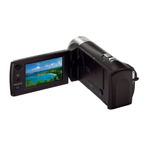 Sony HDR-PJ410 Full HD Camcorder with Built-In Projector (30x Optical Zoom, Optical SteadyShot, Wi-Fi and NFC)4