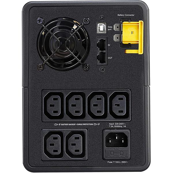 apc easy ups 2200va, 230v, avr, iec sockets(bvx2200li)4