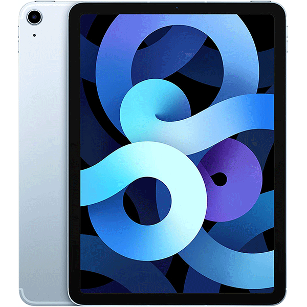 2020 Apple iPad Air (10.9-inch, Wi-Fi + Cellular, 256GB) - Sky Blue (4th Generation) 2