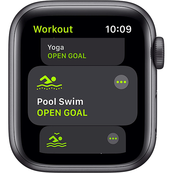 New Apple Watch SE (GPS, 44mm) - Space Gray Aluminum Case with Black Sport Band3