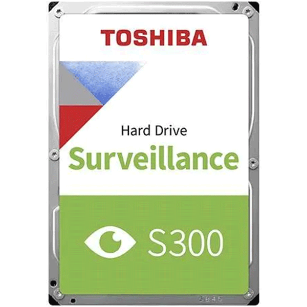 Toshiba S300 Hard Drive, SATA 6Gb/s, 3.5inches, 7200RPM, 6TB (HDETV13ZSA51 )2