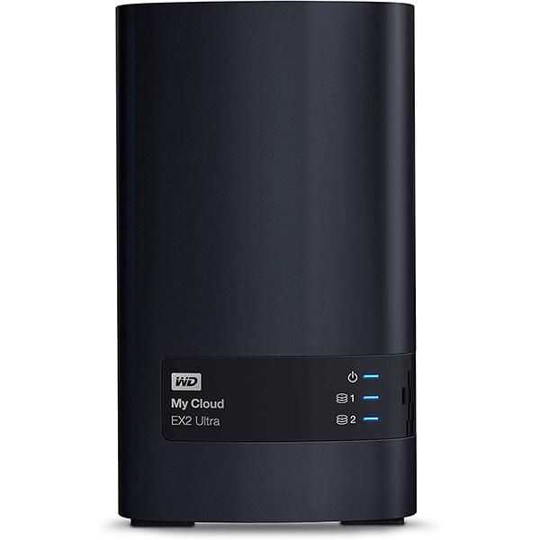 wd 8tb my cloud ex2 ultra network attached storage - nas - wdbvbz0080jch-eesn2