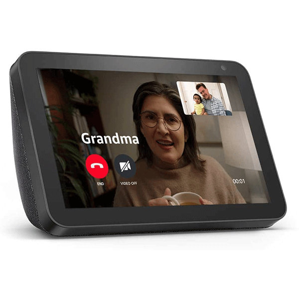 Echo Show 8 - HD smart display with Alexa - stay connected with video calling2