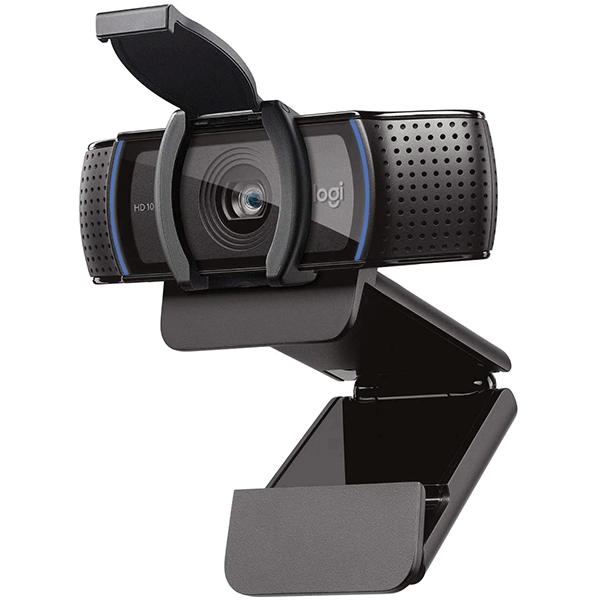 Logitech C920S HD Pro Webcam with Privacy Shutter - 960-001252- 2