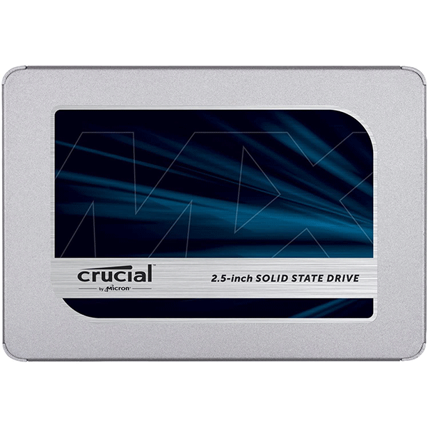 Crucial MX500 500GB 3D NAND SATA 2.5 inch 7mm (with 9.5mm adapter) Internal SSD (CT500MX500SSD1)2