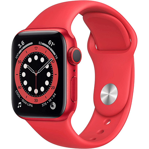 New Apple Watch Series 6 (GPS, 40mm) - (Product) RED - Aluminum Case with (Product) RED - Sport Band2